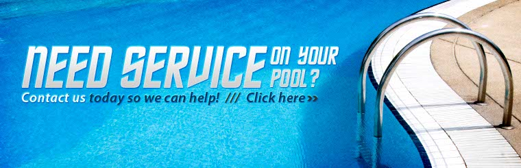 Need service on your pool clickable banner to contact page